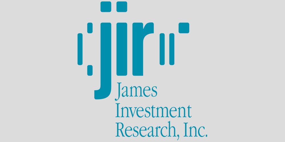 Visit James Investment Reserach website.